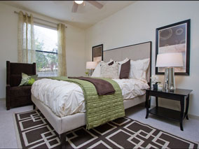 Model Bedroom,townhomes,townhouses,se austin, southeast austin