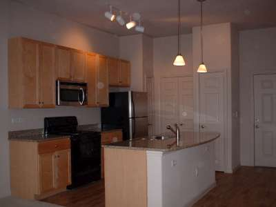 ... Guide,apartment Finders Two Bedroom Kitchen W/island,downtown Austin,for  Lease In Downtown Austin,